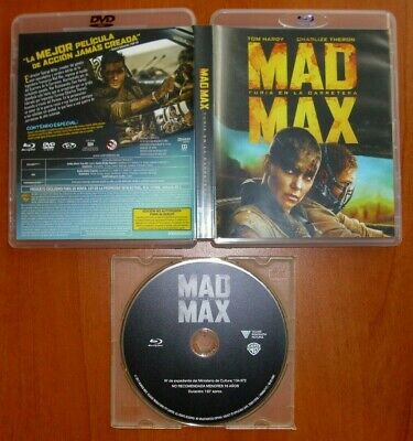 MAD MAX Furia en la Carrterra (Fury Road) [sólo disco Blu-Ray & Region Free]