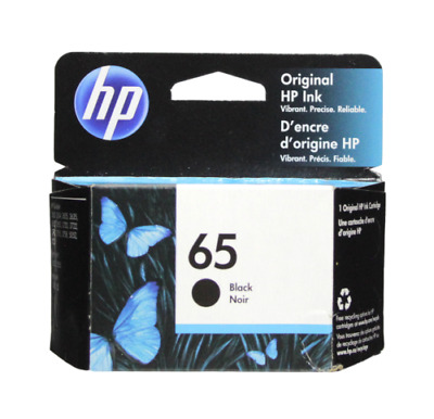 HP N9K02AN  #65 Black Original Ink Cartridge New Genuine