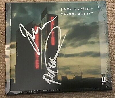 Paul Heaton And Jacqui Abbott Manchester Calling Cd Brand New And Signed