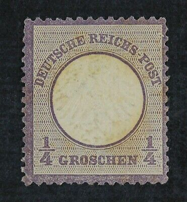 CKStamps: Germany Stamps Collection Scott#1 Mint H OG Thin Stain