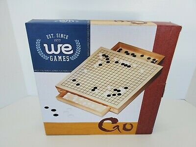 Wooden Go Board Game by We Games