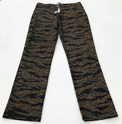 Adidas Skateboarding Camouflage Regular Fit Chino Premium Mens Pant Wicking36x29