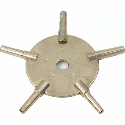 5 Sided Watch Key Mainspring Winder Clockmakers Winding Winder Clockmaker Tool