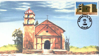 #3220 Spanish Settlement of the SW Barre FDC (22219983220001)