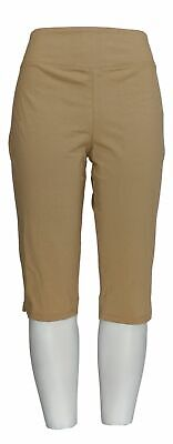 Women with Control Women's Petite Pants MP Wicked Pedal Pusher Brown A352759