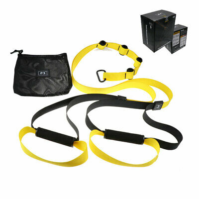 Quality Suspension Straps/Trainer Kit (Gym Training/ HomeWorkout System/Fitness)