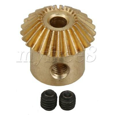 3mm ID 25 Teeth 0.5 Module Tapered Bevel Gear Engine Repair Replacement