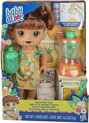 Baby Alive Magical Mixer Baby Doll Tropical Treat *BRAND NEW*