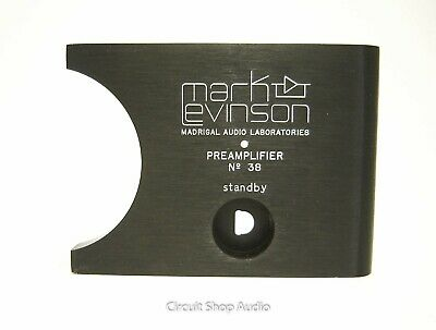 Mark Levinson / Madrigal Audio Preamplifier No 38 Name / Face Plate