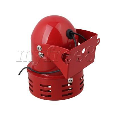 Red MS-190 AC 220V Industrial Alarm Motor Siren High Power Buzzer Sound