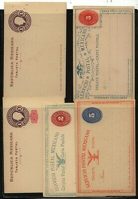 Mexico  postal  cards   unused         MS0122
