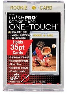 (25) Ultra Pro 35pt Rookie One-Touch Magnetic Card Holders - UV - BRAND NEW