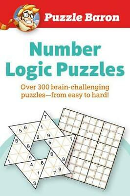 Puzzle Baron Number Logic Puzzles by Puzzle Baron (author)