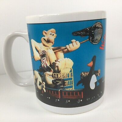 VTG Wallace And Gromit Coffee Cup Mug 1989