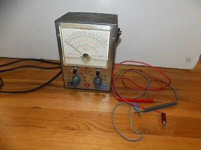 RCA VoltOhmyst WV-77E Volt Meter Powers On