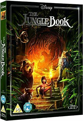 THE JUNGLE BOOK (2016) Live Action Blu-Ray with slipcover BRAND NEW Free Ship