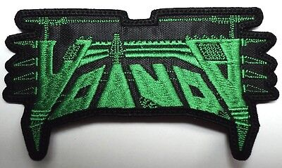 Voivod Green    Shaped    Embroidered Patch