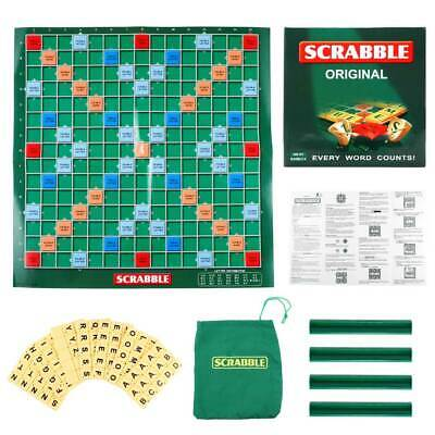 Original Scrabble Board Game Family Kids & Adults Educational Toys Puzzle Games