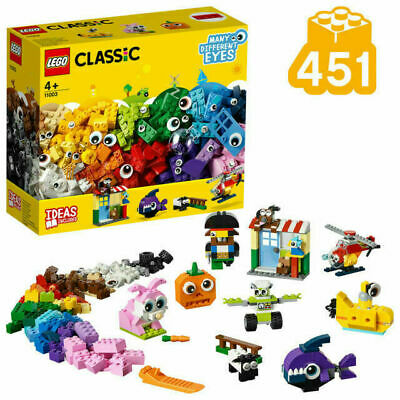 LEGO 11003 | LEGO CLASSIC | Brick and Eyes set | Suitable from 4+ | Creative fun