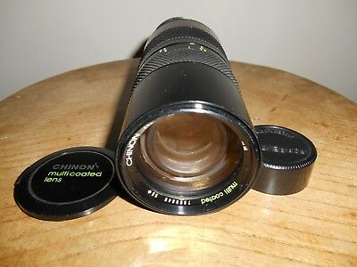 CHINON ZOOM 1:4.5/85-210mm(M42 screw mount)