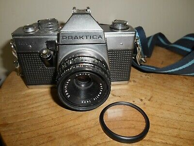 PRAKTICA MTL3 with DOMIPLAN AUTO 1:2.8/50mm Lens