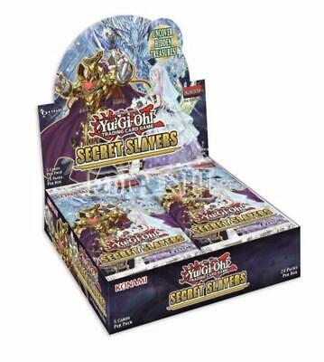 Yugioh Secret Slayers Booster Box New/Sealed Presale