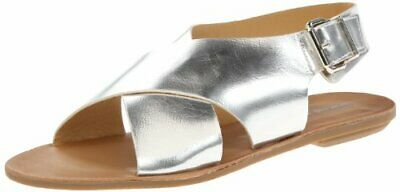 Dirty Laundry by Chinese Laundry Women's Beatbox Sandal, Silver Metallic, 8 M US