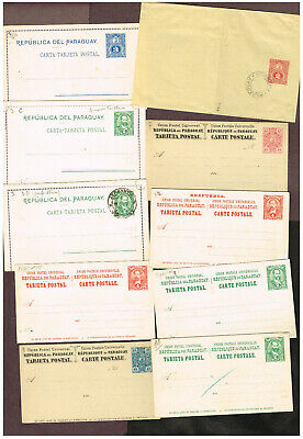 4-Pages Bolivia  Paraguay Columbia    Stationery   (Ber29,3