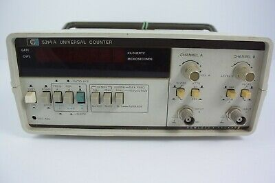 hp 5314A Universal Counter As Is From Working Lab No Cables