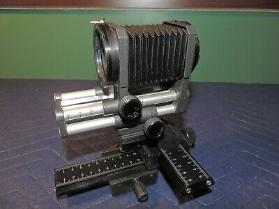 Novoflex Bellows w/rail set with adapters for Sony and Olympus DLSR's