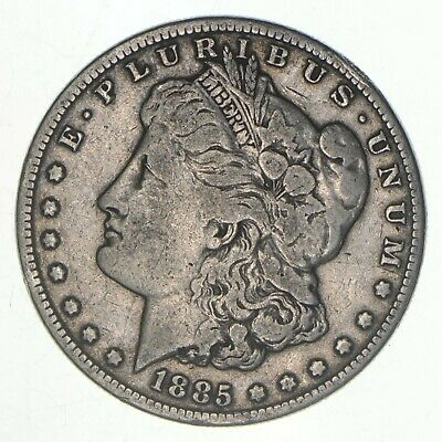 W@W Early 1885 Morgan Silver Dollar - 90% US Coin - Nice Coin *239