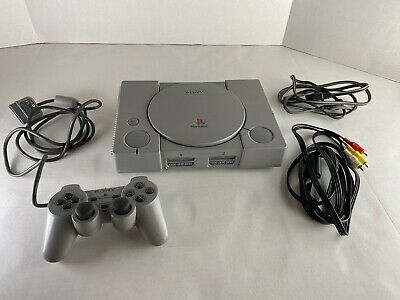 Sony PlayStation 1 PS1 Console System Original Bundle W/ Controller, Tested, OEM