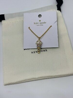 Authentic Kate Spade  Carnival Nights Ice Cream Small Pendant Necklace NWT $58