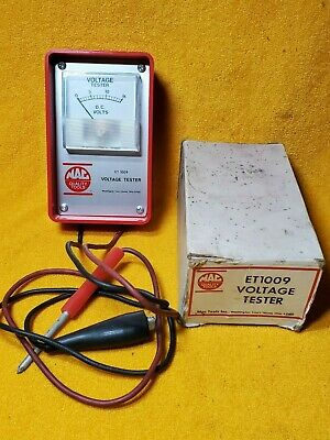 Mac Tools Et1009 Voltage Tester & Instructions In Box