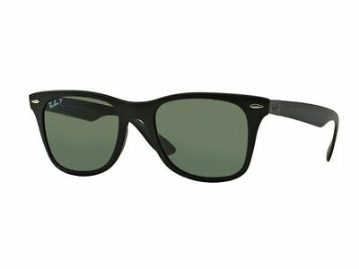RayBan Wayfarer Liteforce POLARIZED Sunglasses - Black Green Classic 4195 601S9A