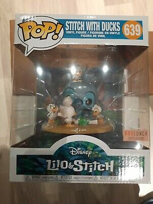 Funko Pop Disney Stitch With The Ducks Boxlunch Exclusive