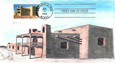 #3220 Spanish Settlement of the SW Cole FDC (29519983220001)