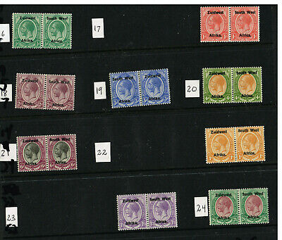 South West Africa #24 Etc F-Vf Mlh   (Ram28