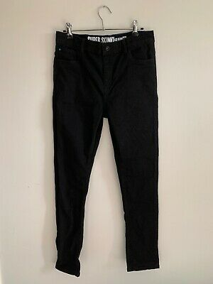 Matalan UK Kids' Children's Teens' Black Jeans Pants Trousers Size Age 15 Years