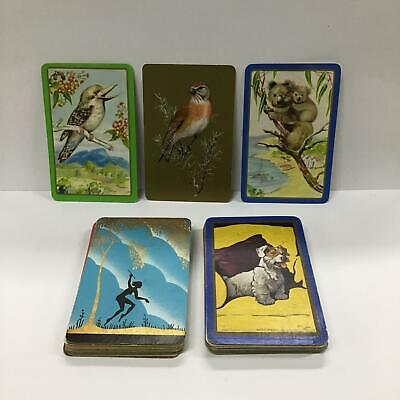 Assorted Vintage Trading Playing Cards Animals Flora Places #456