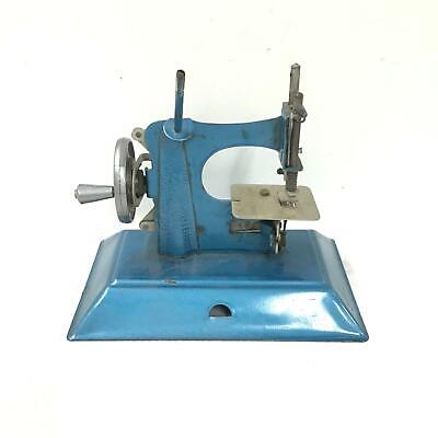 Tin Toy Children's Crank Sewing Machine Made in England #710