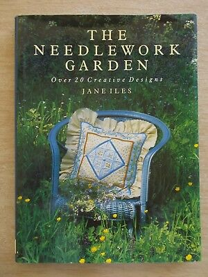 The Needlework Garden~Jane Iles~Embroidery Patterns~141pp HBWC~1989