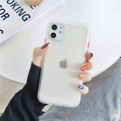 Whit Protective Shatter-resistant Matte e Translucent Phone Case for IPhone11