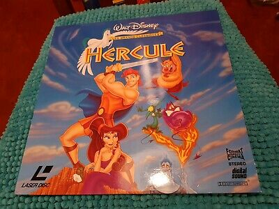 HERCULES - Laserdisc Walt Disney PAL LD (no DVD bluray) laser disc