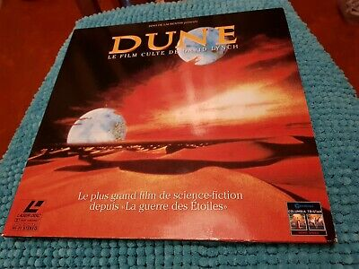 DUNE - David Lynch - LASERDISC Walt Disney PAL LD (no DVD bluray) laser disc