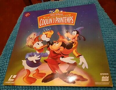 Coquin de Printemps - LASERDISC Walt Disney PAL LD (no DVD bluray) laser disc