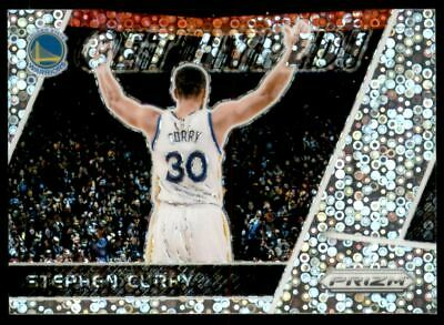 2017-18 Panini Prizm Get Hyped! Prizms Fast Break #6 Stephen Curry