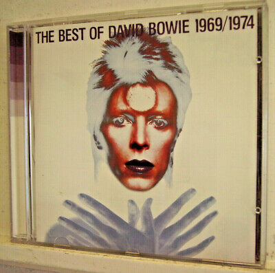 DAVID BOWIE - 'The Best of 1969-1974' - (CD 1997)**EXC+**