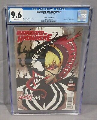 Marvel GUARDIANS OF KNOWHERE #1 Rob Guillory Gwenom Gwen Stacy Variant NM
