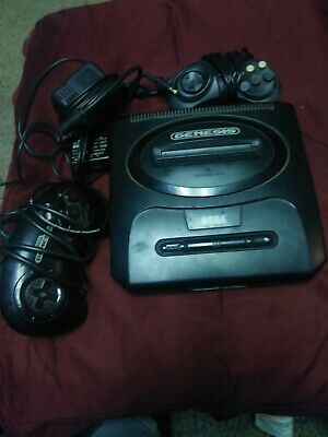 Sega Genesis Version 2 System Console with 2 Controllers